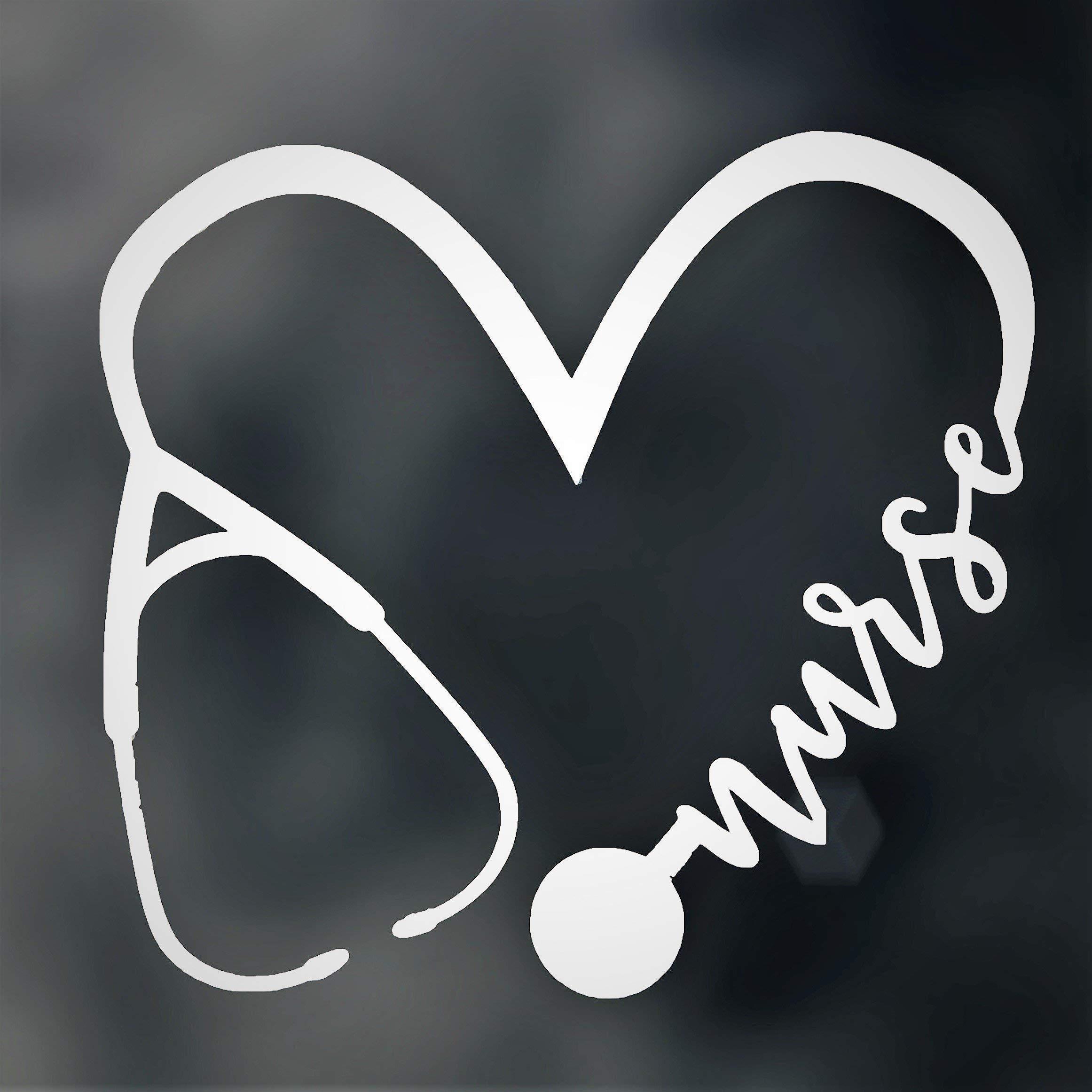 WickedGoodz Oval Vinyl Licensed Practical Nurse Caduceus Nurse Decal Perfect Nurse Graduate Gift LPN Bumper Sticker