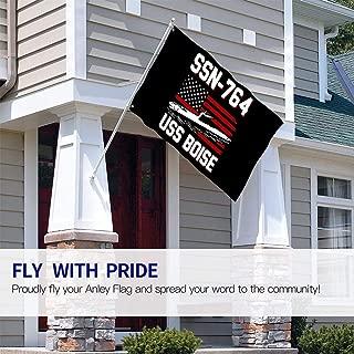 ZHANGPEIENfaqi SSN-764 USS Boise Flag 3' X 5' Ft Outdoor Flags Banner Breeze Flag