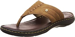 BATA Men's Terrance Cushion Brown Slippers-8 UK (42 EU) (8714343)