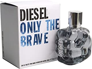 Diesel Only The Brave Eau De Toilette Spray for Men, 1.7 Ounce