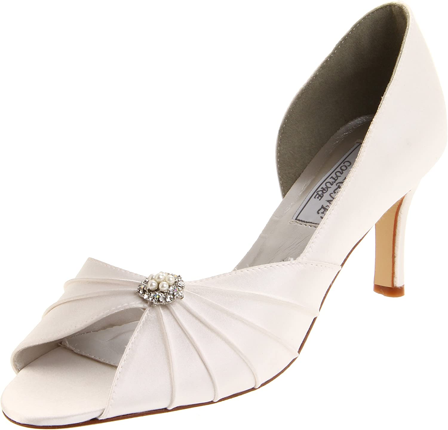 Liz Rene Couture Women's Melissa Pump White