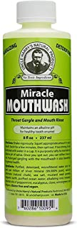 Sponsored Ad - Uncle Harry's Natural Alkalizing Miracle Mouthwash | Organic Adult & Kids Mouthwash for Bad Breath | pH Bal...