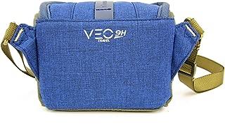 Vanguard Veo Travel 9H Bl Fotoğraf Kamerası Çantası, Mavi/Haki
