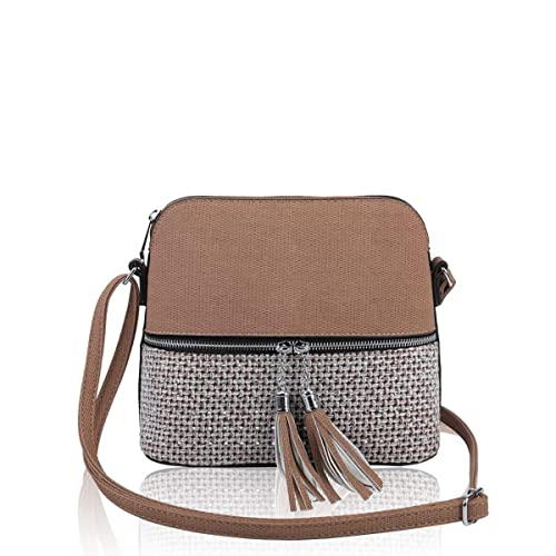 LeahWard Women s Tassel Cross Body Bags Party Handbags 811 4d0c3d028