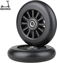 Kutick Scooter Wheels 100mm Replacement Pair with ABEC-7 Bearing for 100MM Scooter