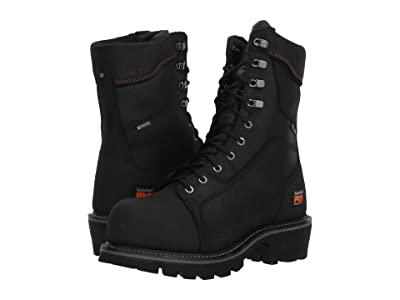 Timberland PRO Ripsaw Logger 9 Composite Toe Puncture Resistant Waterproof (Black) Men
