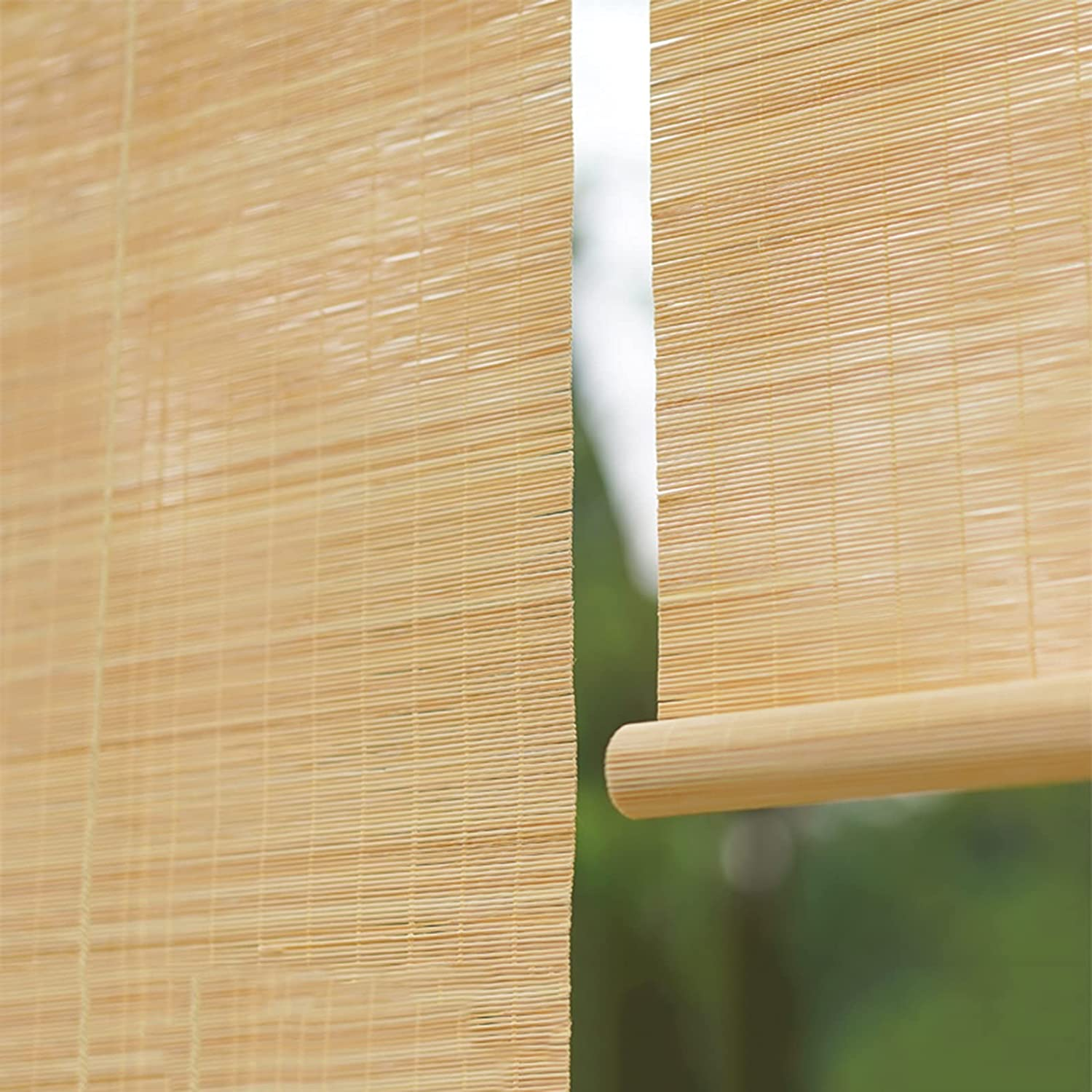Indoor Natural Bamboo Sale Roller Wind Shades Super special price Filtering Light
