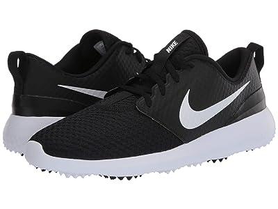 Nike Golf Roshe G (Black/Metallic White/White) Women