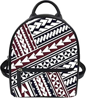 حقيبة ظهر نسائية من Advocator مصنوعة من الجلد الصناعي ومزودة بسحاب حقائب ظهر كاجوال وحقائب كتف