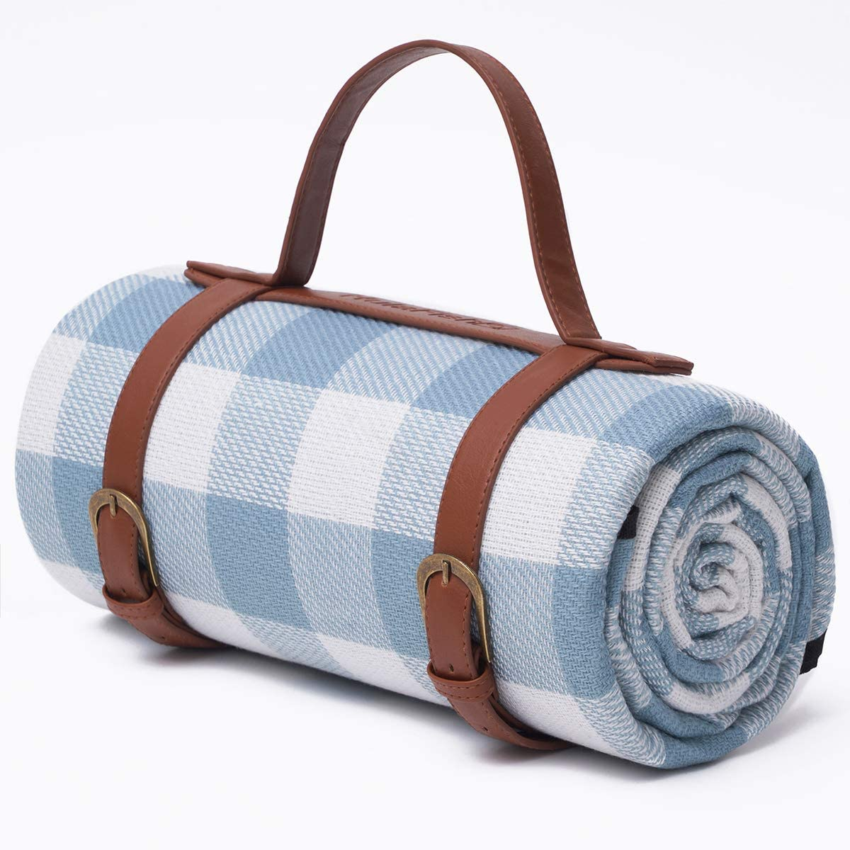 Price reduction HulaFish Large 59''x79'' Waterproof Picnic - Layered Blanket 3 F Albuquerque Mall