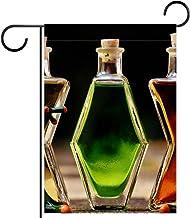 Tuinvlag, kikkers genieten van het drinken van wijn, Seizoensgebonden Outdoor Vlaggen 28 x 40 Dubbelzijdige Home Yard Deco...