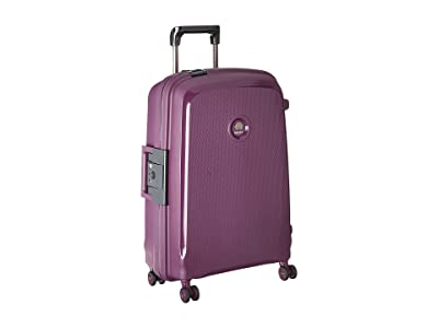 Delsey Belfort DLX Spinner Carry-On (Purple) Luggage