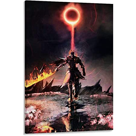 Dark Souls 3 Wall Scroll Poster Fabric Painting Game Artorias of the Abyss Mural
