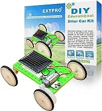 Extpro DIY Assemble Toy Set Solar Powered Car Kit Science Educational Kit for Kids Students