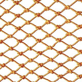 Color malla de nylon 3 * 4 m red de seguridad balcón cerca malla malla red cuerda red de seguridad, niños al aire libre escalada red de protección del puente colgante, red de decoración de jardín para