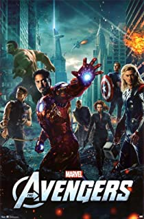 Avengers-One Sheet Poster 24 x 36 inches
