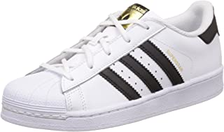 adidas Boys' Superstar Shoes, Footwear White/Core Black/Footwear White