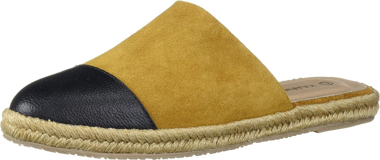 KAANAS Women's Marbella Espadrille Flat Slide Shoe Mule Sale special price Max 56% OFF