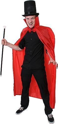 Erwachsene lang Cape Sets (142,2 ) ideal für mehrere Kostüme, Monster, Skelette, Vampire, D nen, Zombies