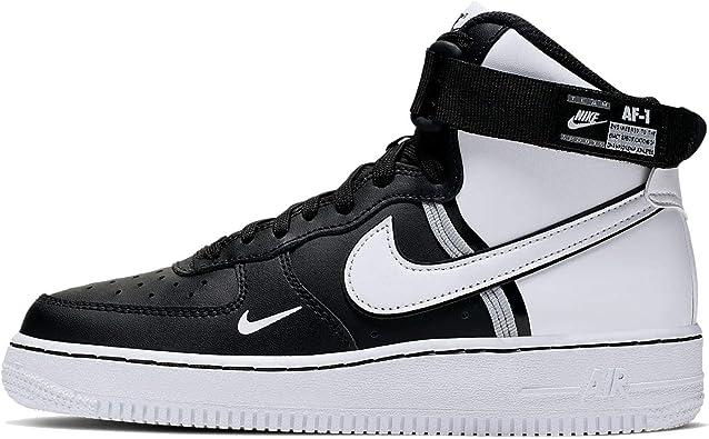 Nike Air Force 1 High Lv8 2 (GS), Chaussures de Basketball Homme ...