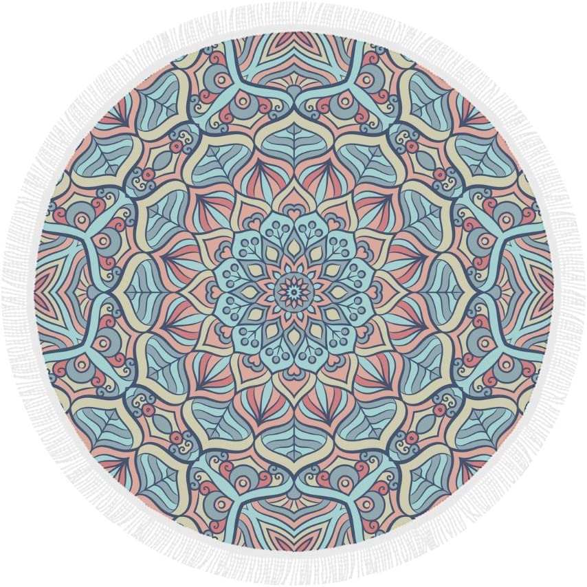 Indian Mandala Ranking TOP17 Round Beach Mat Towel Blanket S Manufacturer direct delivery Tapestry Yoga for