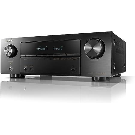 デノンDenon AVR-X550BT AVレシーバー 5.2ch Dolby TrueHD/DTS:HD/Master Audio対応 エントリークラス ブラック AVR-X550BT-K