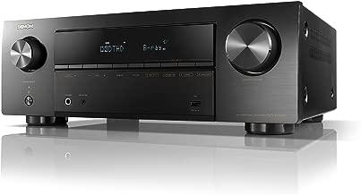 DENON  AVレシーバー 5.2ch Dolby TrueHD/DTS:HD/Master Audio対応 エントリークラス ブラック AVR-X550BT-K
