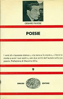Poesie; Lavorare Stanca Verra La Morte E Avra I Tuoi Occhi