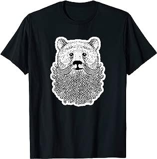 Bear-d - Bearded Bear Novelty T-Shirt Tee