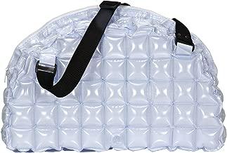 37 x 27 x 27 cm wei/ß Kunststoff Wenko 4392104100 Strandtasche Bubble Bag inklusive Pumpe