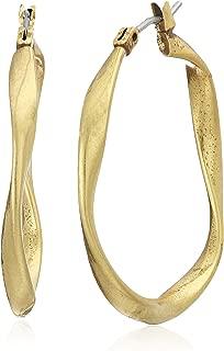 Best thick brass hoop earrings Reviews