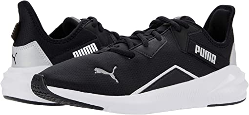 Puma Black/Puma White/Metallic Silver