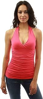 hot pink sleeveless top
