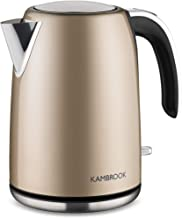 Kambrook Stainless Steel Kettle, Champagne, KKE625CMP