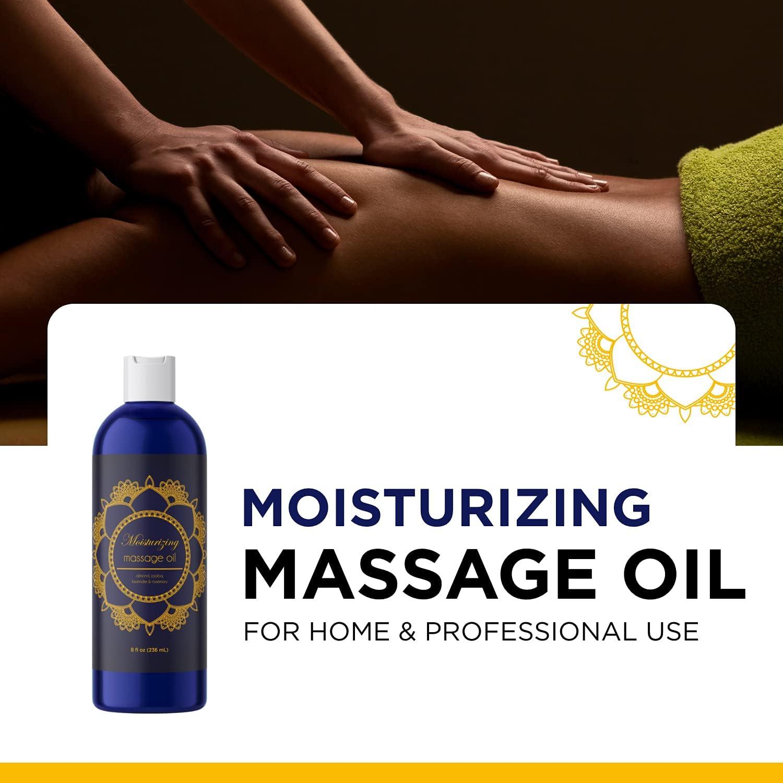 Massage oil body sensual 8 Aphrodisiac