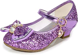 Purple Heels For Kids