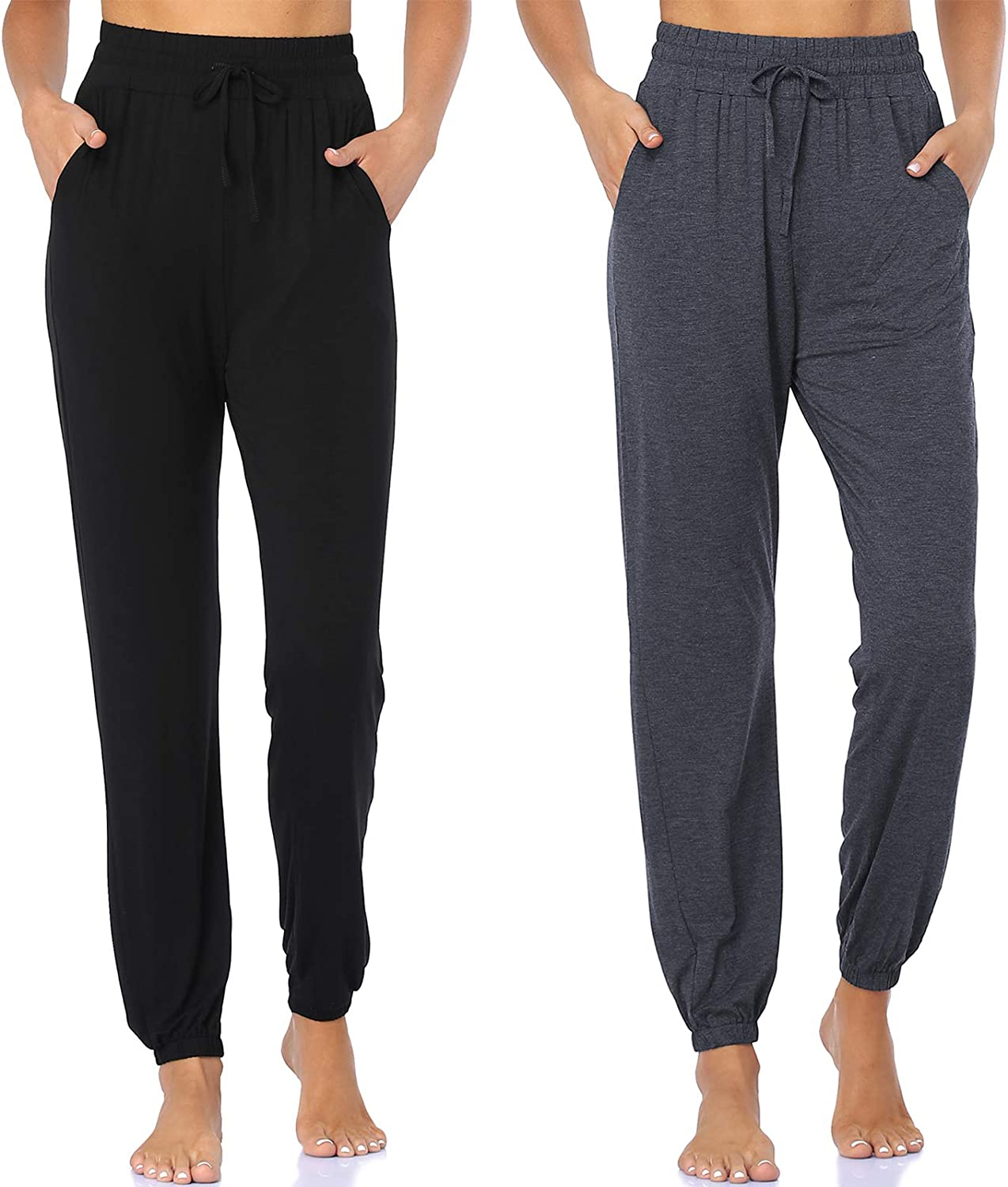 Great interest Limited Special Price ASIMOON Women's Sweatpants Lightweight Joggers Comfy Pants