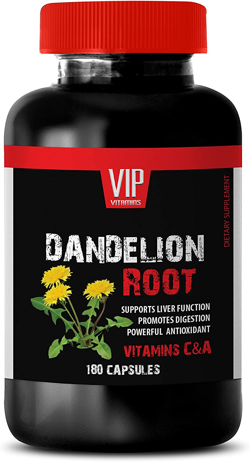 Liver Support Pills - Dandelion Root 520MG A Su Fixed price for sale Vitamins Super beauty product restock quality top C