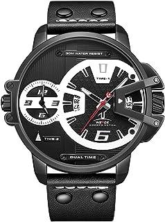 Weide XL Reloj Hombre Calendario Fecha Múltiples Zonas Horarias