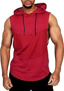 tank top hoodies for men