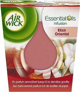 Air Wick Desodorisant Maison Bougie Parfumée Huiles Essentielles Elixir Oriental