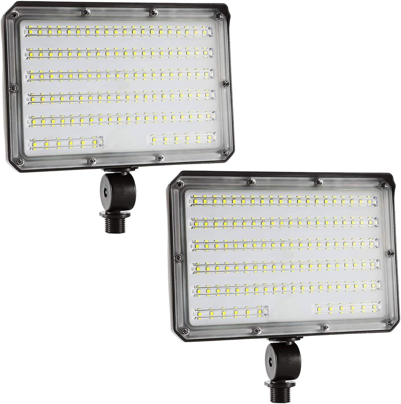 80W LED Flood Light Outdoor with Knuckle Super sale Mount Lights Max 41% OFF