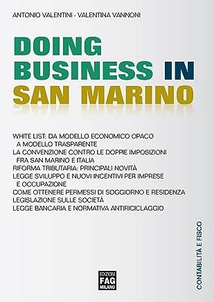 Doing Business in San Marino (Contabilità e fisco)