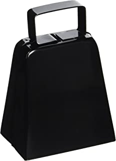 Beistle 034689128359 black Cowbell Noisemaker, One Size, Assorted