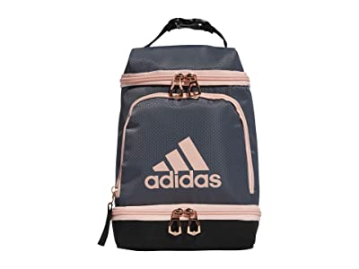 adidas Excel Lunch Bag (Onix/Black/Rose Gold/Haze Coral) Bags