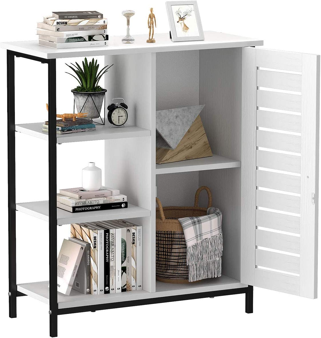 New Detroit Mall product YITAHOME Side Storage Cabinet Cupboard Cabine Floor Sideboard