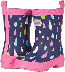 Rain Drops Matte Finished Rain Boot (Toddler/Little Kid)