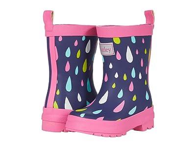 Hatley Kids Rain Drops Matte Finished Rain Boot (Toddler/Little Kid) Girl