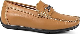 Steve Harvey Liamey Boys Designer Fashion Sharp /& Adorable Vegan Woven Lace Loafers Drivers