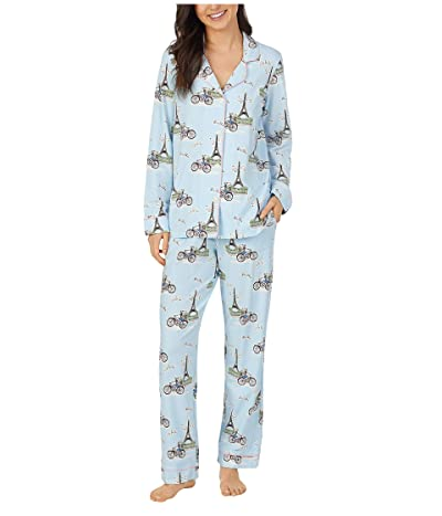 BedHead Pajamas Long Sleeve Classic Pajama Set (Cest La Vie) Women